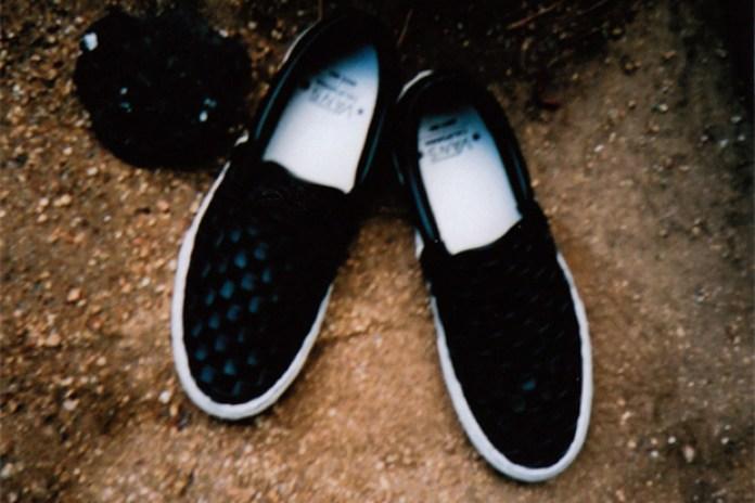 Vans California 2010 Fall/Winter Woven Checkerboard Classic Slip-on