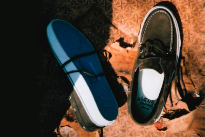 Vans California 2010 Fall/Winter Zapato Del Barco