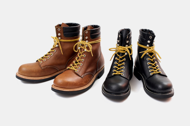 Victim 2010 Spring/Summer Collection Leather Work Boots