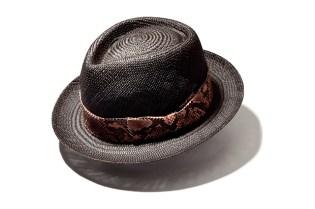 Wacko Maria for Blackflag Snake Skin Hat