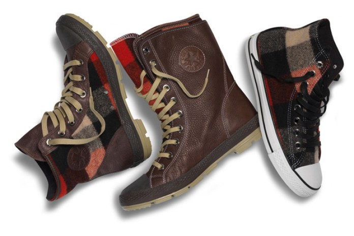 Converse x Woolrich 2010 Fall/Winter Footwear
