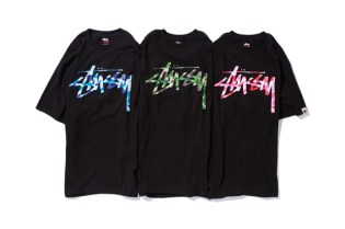 XXX Stussy x A BATHING APE Stock Camo T-shirt