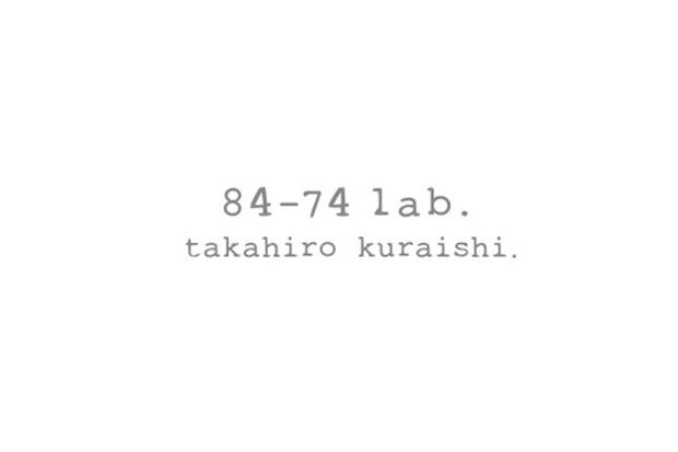 84-74 lab. by Takahiro Kuraishi Announcement
