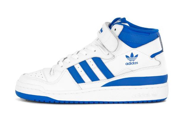adidas Forum Mid White/Blue