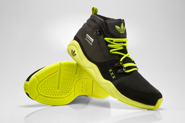 "adidas Originals Fortitude Mid ""Neon"" Collection"