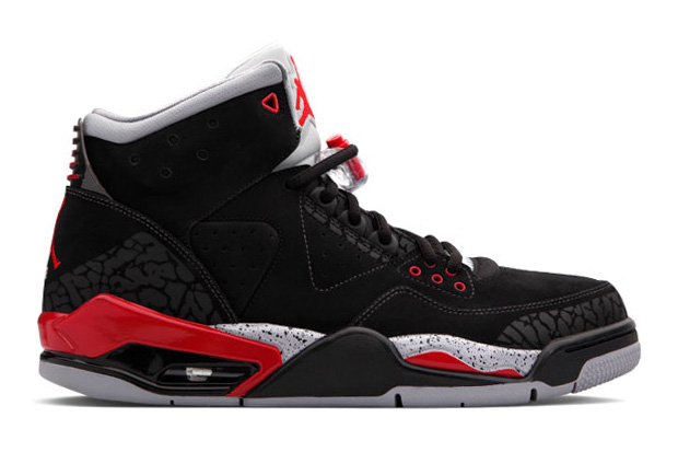 Air Jordan Rare Air Black/Varsity Red/Cement