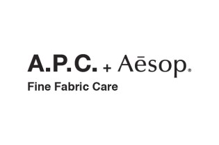A.P.C. x Aesop Fine Fabric Care
