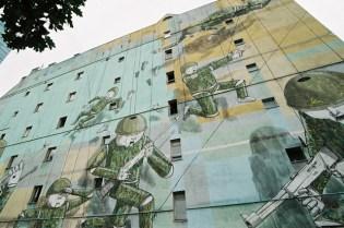 Blu: Artwork in Warsaw