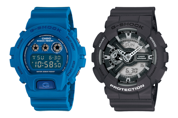 Casio G-SHOCK 2010 August Watches