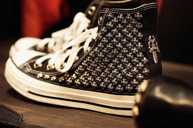 Robert Mapplethorpe Foundation x Chrome Hearts Sneakers