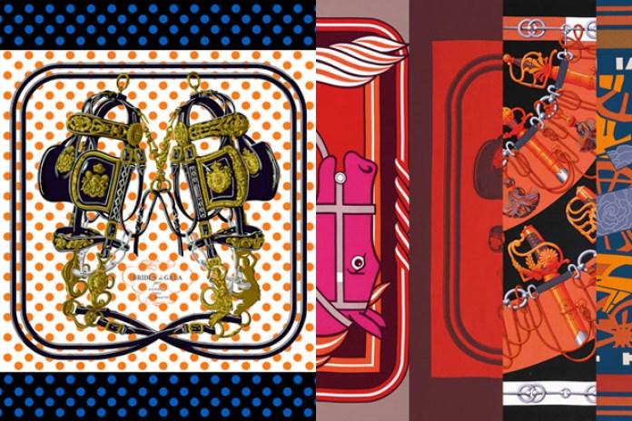 """colette x Hermès """"J'Aime Mon Carré"""" Collection"""