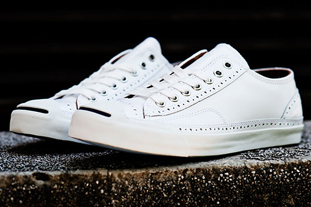 Converse Jack Purcell 'Brogue Leather'