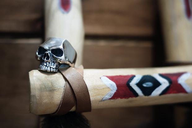 """Crazy Pig Designs """"Lemola Skull Ring"""""""