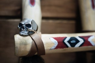 "Crazy Pig Designs ""Lemola Skull Ring"""