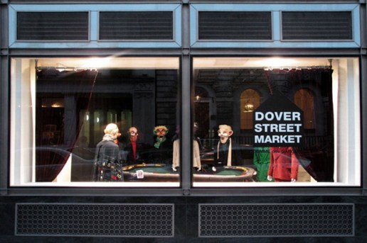Dover Street Market George Condo x Adam Kimmel Display Window