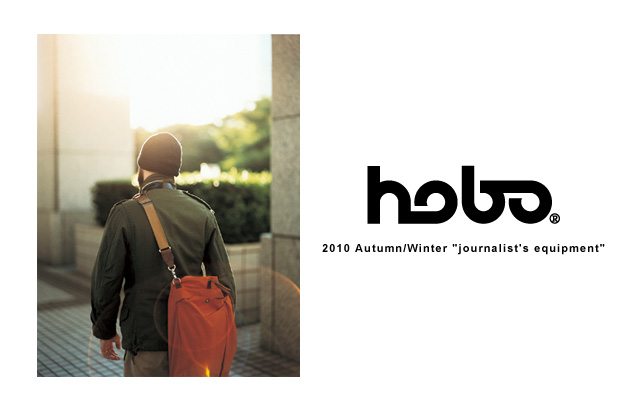 "hobo 2010 Fall/Winter ""journalist's equipment"" Collection"