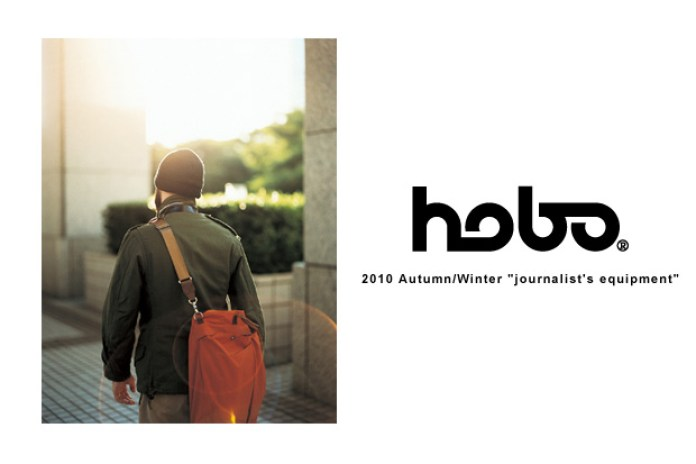 """hobo 2010 Fall/Winter """"journalist's equipment"""" Collection"""
