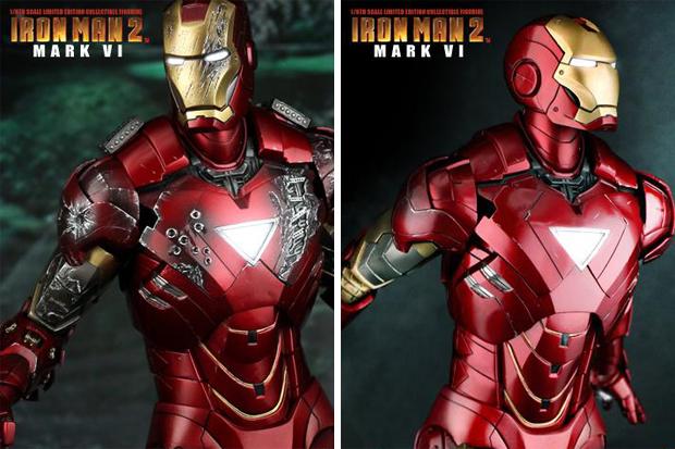 Hot Toys Iron Man II 1/6th Mark VI Figure