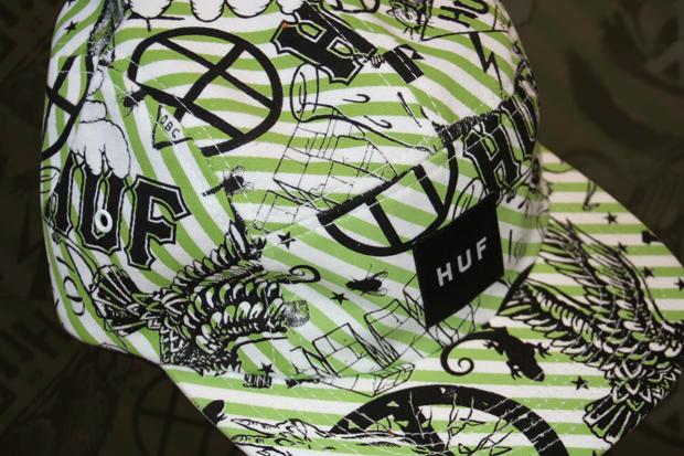 SoBe Squamata x HUF Cap & Skate Deck