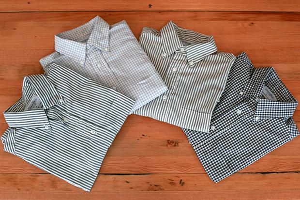INVENTORY x Gitman Bros. 2010 Spring/Summer BD Shirts