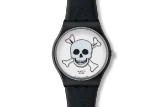 "Ivan Navarro x SWATCH ""You Stop You Die"" Watch"