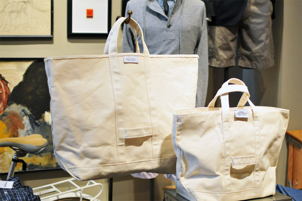J.Crew x ACL Canvas Coal Bags