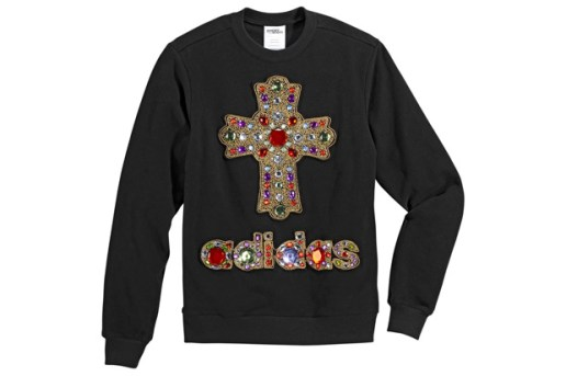 adidas Originals by Originals Jeremy Scott Cross Sweater