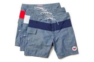 Katin x Apolis Activism Chambray Swim Shorts
