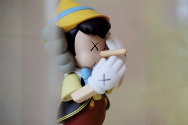 KAWS Exhibition Opening Video