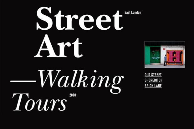 London: Hookedblog Street Art Walking Tour