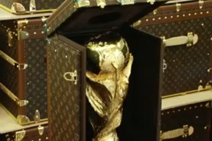 Making of 2010 FIFA World Cup Trophy Case by Louis Vuitton