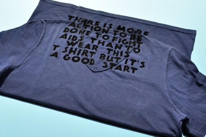 Maison Martin Margiela 2010 AIDS Shirt