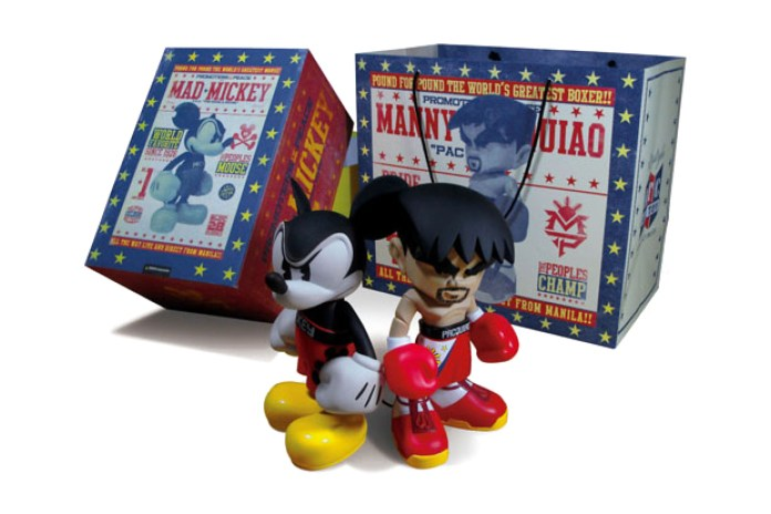 Manny Pacquiao x Bloc28 x MINDstyle Mad Mickey Set