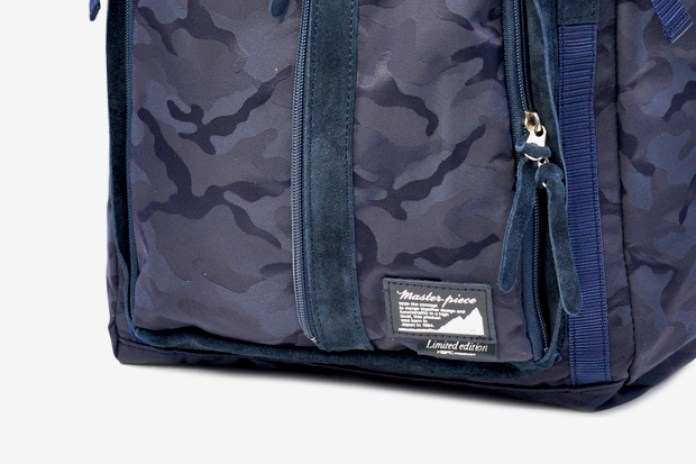 master-piece Indy Camouflage Navy Collection