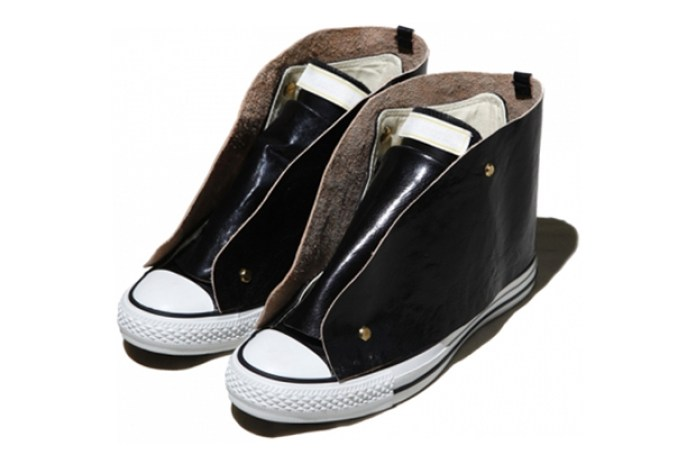 Melanotic Leather Sneakers