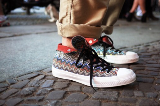 Streetsnaps: Missoni Converse