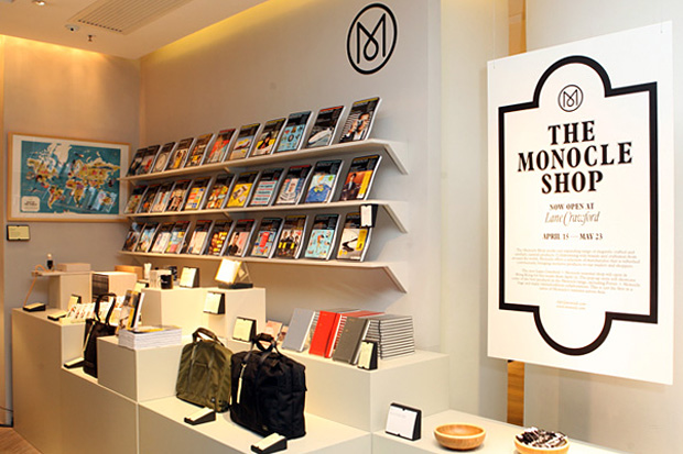 Monocle Shop Hong Kong