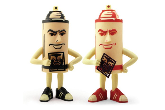 OBEY x STRANGEco: Mr. Spray Toy