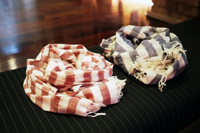 Mr. Start 2010 Fall/Winter Striped Scarves