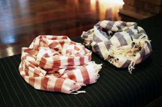 Mr. Start 2010 Fall/Winter Striped Scarves