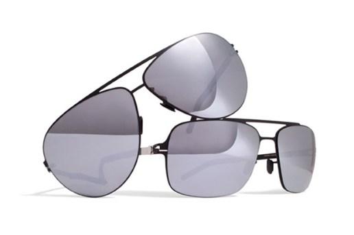 Mykita Série Noire Aviator Sunglasses