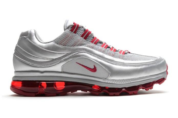 Nike Air Max 24/7 Metallic Silver/Varsity Red