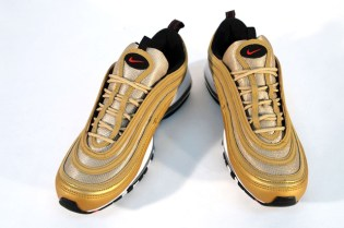 Nike Air Max 97 LE Metallic Gold/Varsity Red-Black