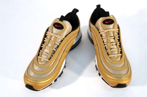 Nike Air Max 97 LE Metallic Gold/Varsity Red-Black