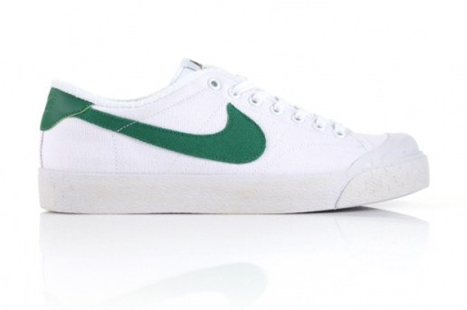 Nike All-Court Vintage White/Green