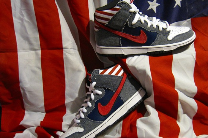 "Nike SB Dunk High ""Born In The U.S.A."""