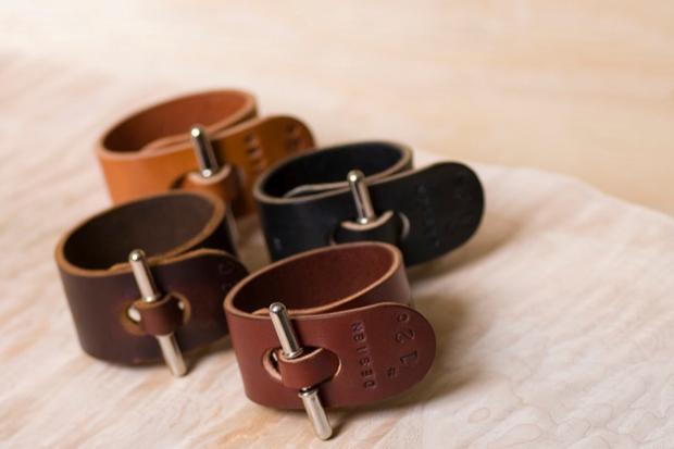 Palmer & Sons No 12c Leather Cuffs