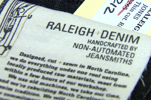 Raleigh Denim: Handcrafted in North Carolina