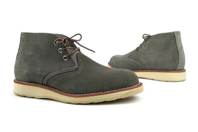 Red Wing Shoes Gray Chukka Boot Gray