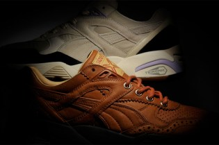 """Size? x Sneaker Freaker x PUMA R698 """"Reaction"""" Collection"""